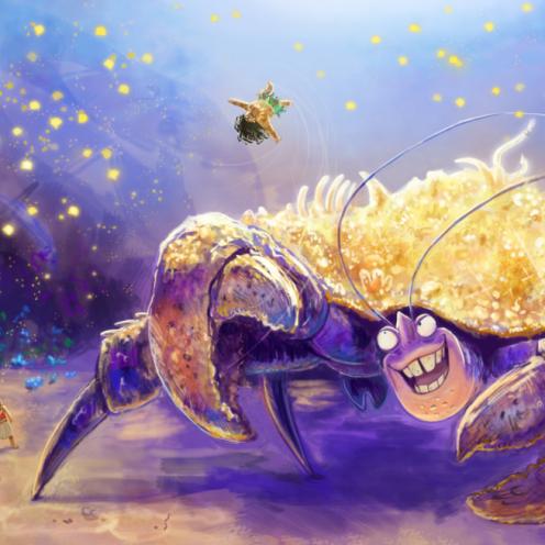 shiny_crab_by_gbtz007-davzwei