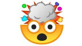 mind blwon emoji